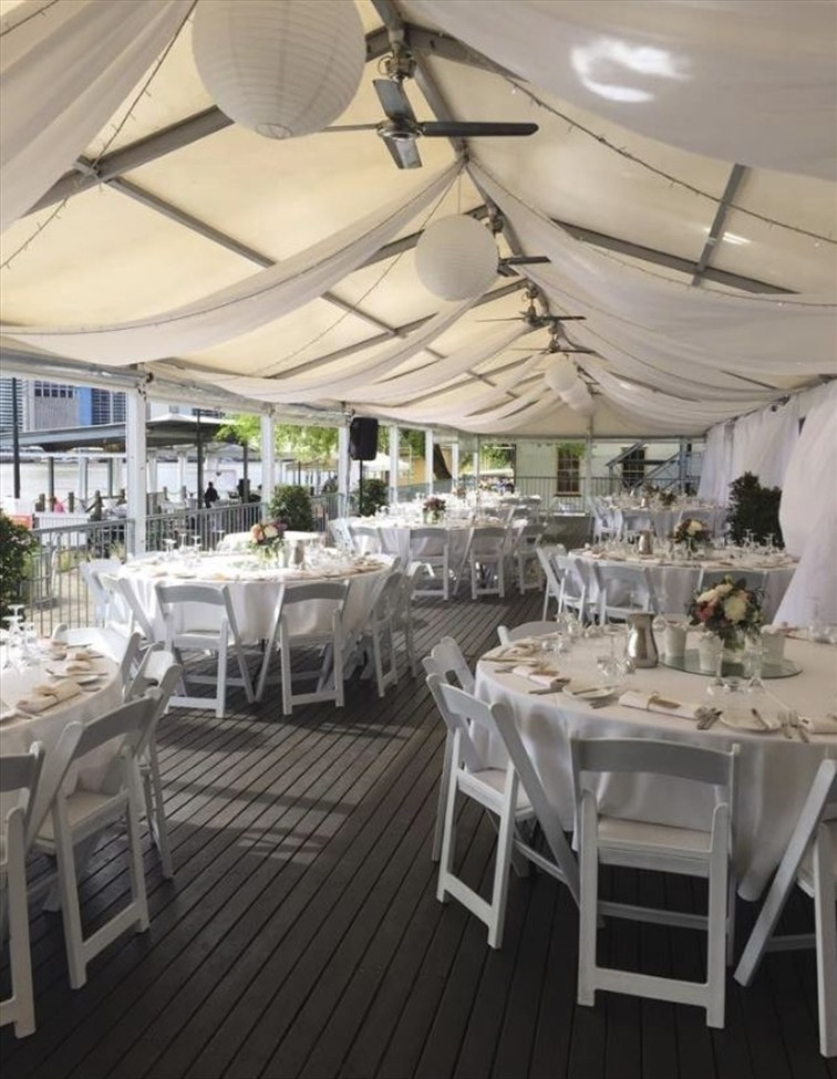 Wedding Venue - Riverlife - Sunset Marquee 8 on Veilability