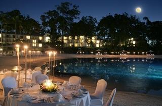 Wedding Venue - Intercontinental Sanctuary Cove Resort - Beach Lagoon 1 on Veilability