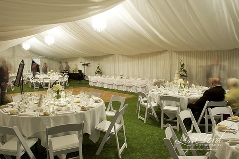 Wedding Venue - Links Hope Island - Outdoor Marquee on the Lawns 1 on Veilability