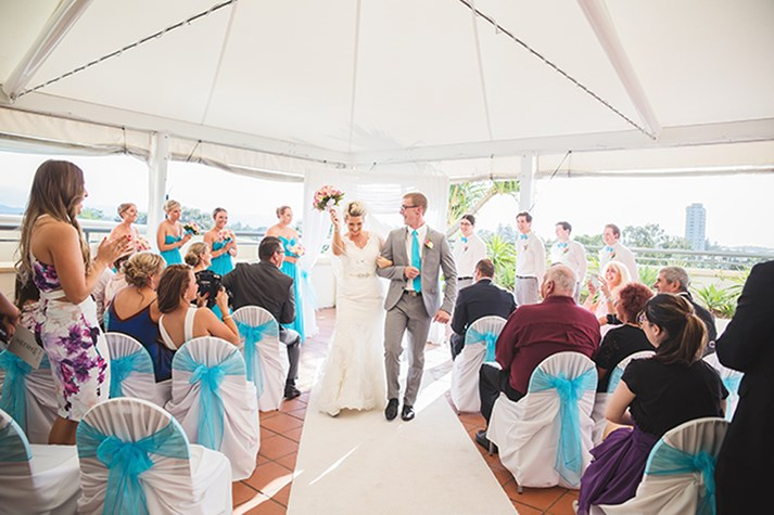Wedding Venue - Watermark Hotel & Spa Gold Coast - Poolside Marquee 1 on Veilability