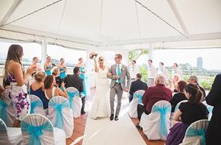 Wedding Venue - Watermark Hotel & Spa Gold Coast - Poolside Marquee 1 on Veilability