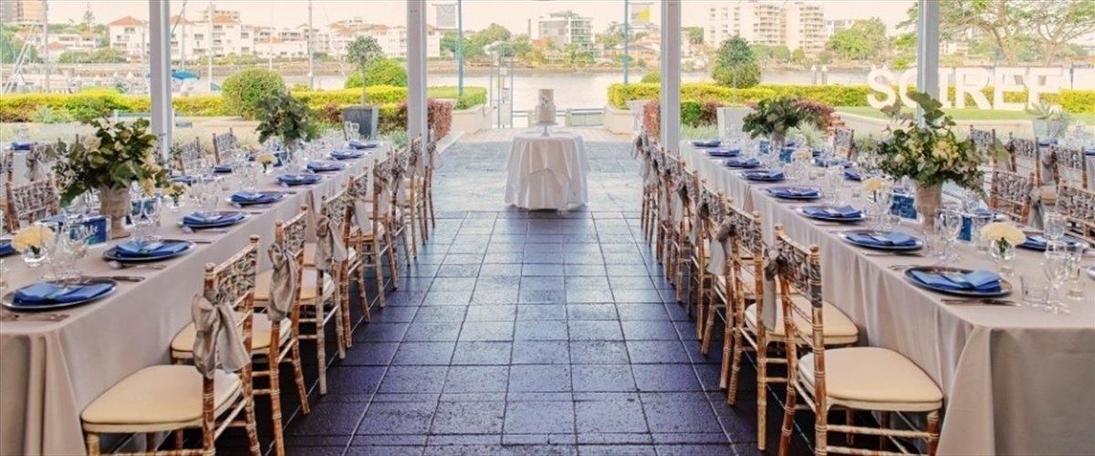 Wedding Venue - The Landing At Dockside - The River Room 1 on Veilability