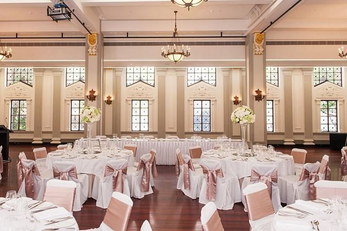 Wedding Venue - Brisbane City Hall - Brisbane Room 3 on Veilability