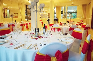 Wedding Venue - Best Western Plus Hotel Diana - Arcadia and Fountain Room 11 on Veilability