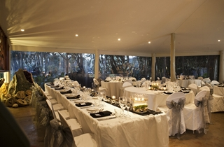 Wedding Venue - Cedar Creek Lodges - The Rainforest Restaurant 1 on Veilability