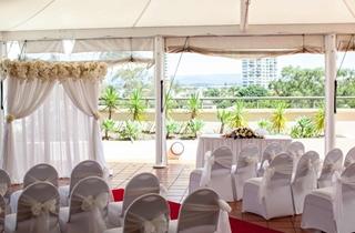 Wedding Venue - Watermark Hotel & Spa Gold Coast - Poolside Marquee 2 on Veilability
