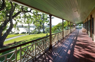 Wedding Venue - Newstead House - The Veranda 1 - Verandah on Veilability