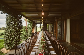 Wedding Venue - Spicers Peak Lodge - The Terrace 6 on Veilability