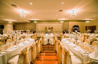 Wedding Venue - Shangri La Gardens  - Regency Room 3 - Lemon Theme Regency Room on Veilability
