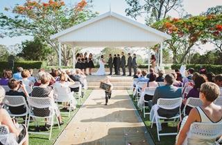 Wedding Venue - Tennyson's Garden at The Brisbane Golf Club 1 on Veilability