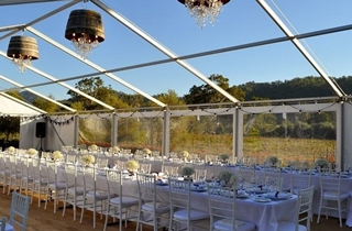 Wedding Venue - Sarabah Estate Vineyard - Marquee 2 on Veilability
