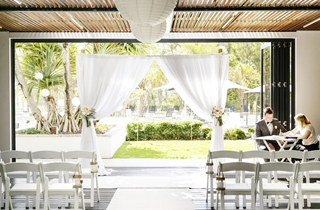 Wedding Venue - RACV Noosa Resort - Undercover Terrace 1 on Veilability