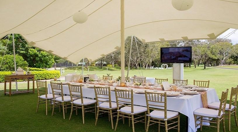 Wedding Venue - Twin Waters Golf Club - Marquee 1 on Veilability