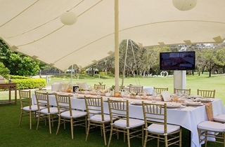 Wedding Venue - Twin Waters Golf Club - Marquee 1 on Veilability