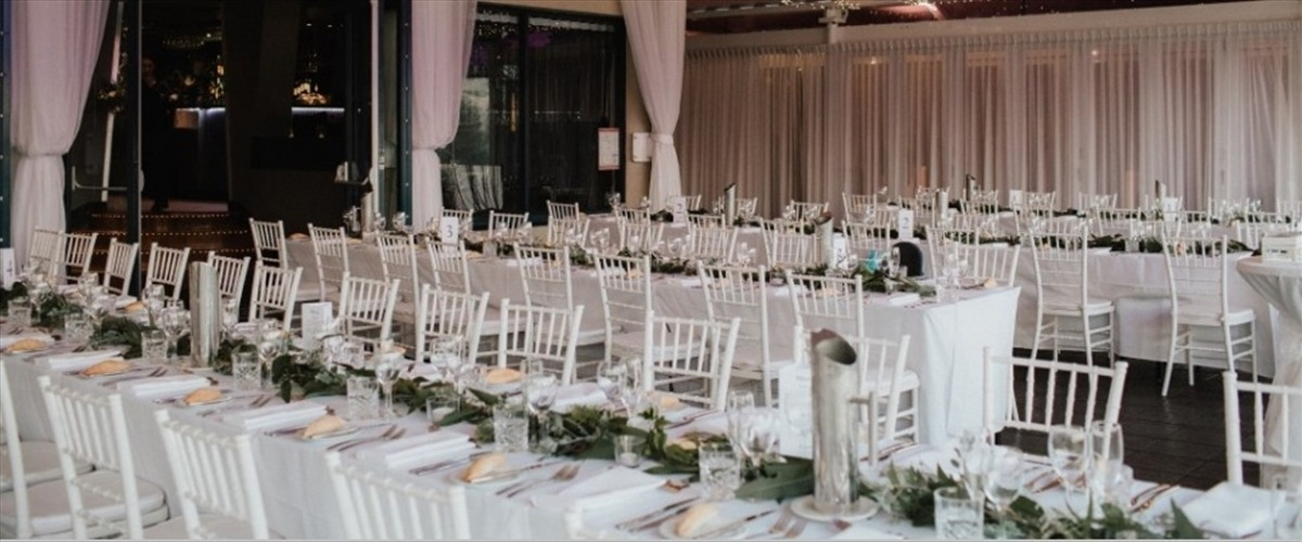 Wedding Venue - The Landing At Dockside - The River Room 3 on Veilability