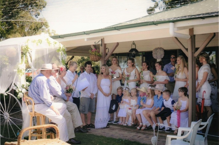 Wedding Venue - Cherrabah Country Weddings - The Terrace 3 on Veilability