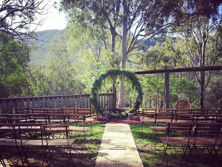 Wedding Venue - Lyell Deer Sanctuary - Lyell Deer Cafe 2 on Veilability