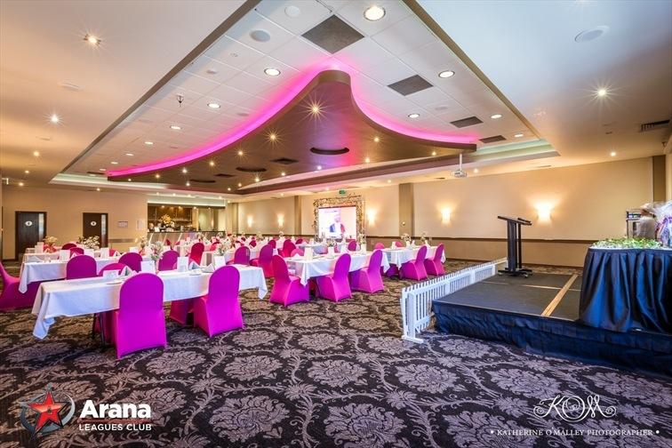 Wedding Venue - Arana Leagues Club Ltd - The Foundation Room 1 on Veilability