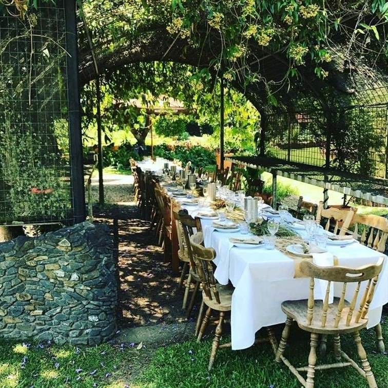 Wedding Venue - Mavis's Kitchen & Cabins - Under the Stars or Marquee 5 on Veilability