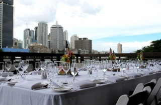 Wedding Venue - State Library of Queensland - River Decks 1 on Veilability