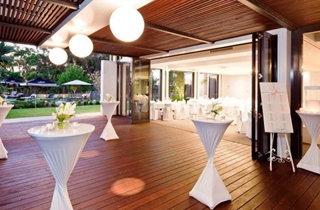 Wedding Venue - RACV Noosa Resort - Undercover Terrace 3 on Veilability