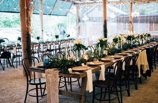 Wedding Venue - Mavis's Kitchen & Cabins - The Barn 2 on Veilability