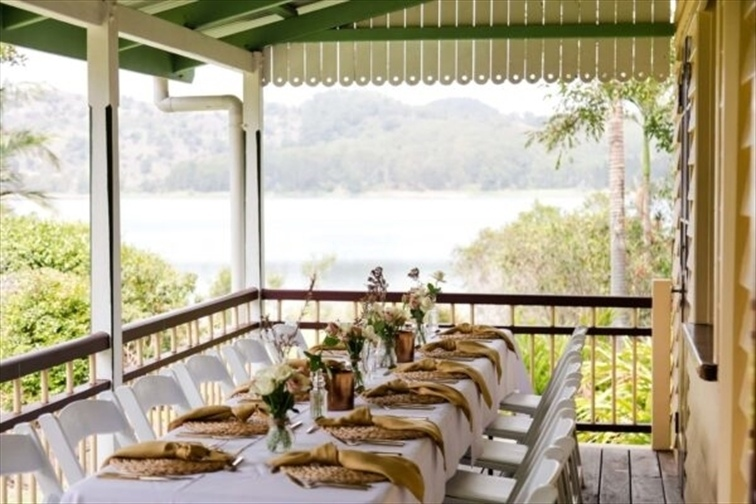 Wedding Venue - Secrets on the Lake - The Lakehouse Deck 2 on Veilability