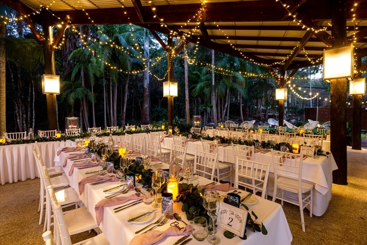 Wedding Venue - Cedar Creek Lodges - The Island Glade 8 on Veilability