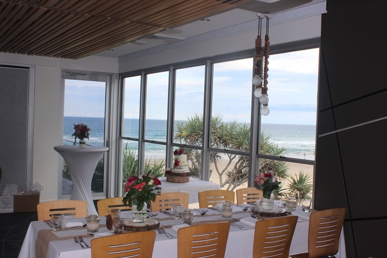 Wedding Venue - Coolum Beach Surf Club - Small Function Room 6 on Veilability