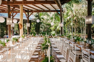 Wedding Venue - Cedar Creek Lodges - The Island Glade 1 on Veilability