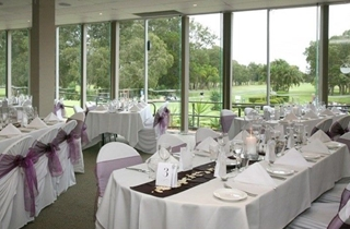 Wedding Venue - Redland Bay Golf Club - Fountain Room 1 on Veilability