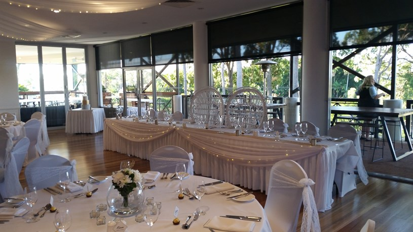 Wedding Venue - Sanctuary Cove Golf & Country Club - Arnie's Function Room 6 on Veilability