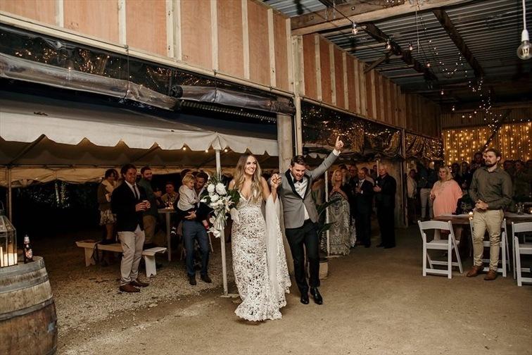 Wedding Venue - Mavis's Kitchen & Cabins - The Barn 1 on Veilability
