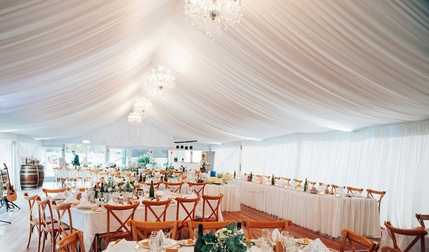 Wedding Venue - O'Reilly's Canungra Valley Vineyards - Marquee Hire 1 on Veilability