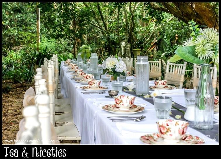 Wedding Venue - Tea and Niceties - PAVILION GARDENS AND THE VINTAGE ENGLISH ROOM 1 on Veilability