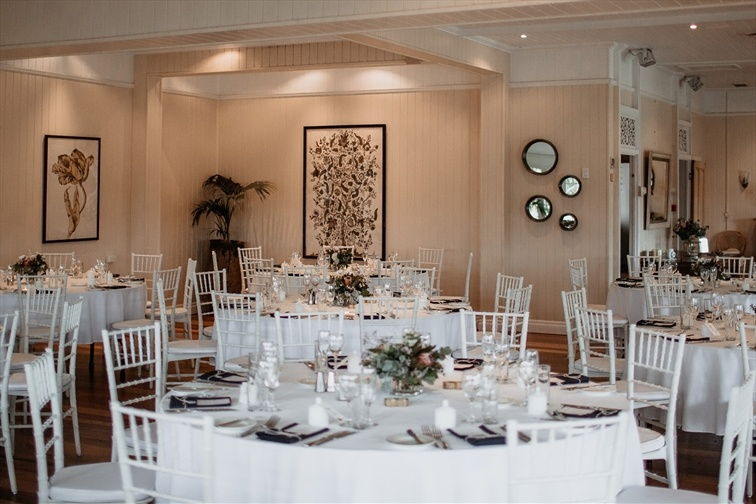 Wedding Venue - Hillstone St Lucia - The Rosewood Room 2 - The Rosewood Room on Veilability