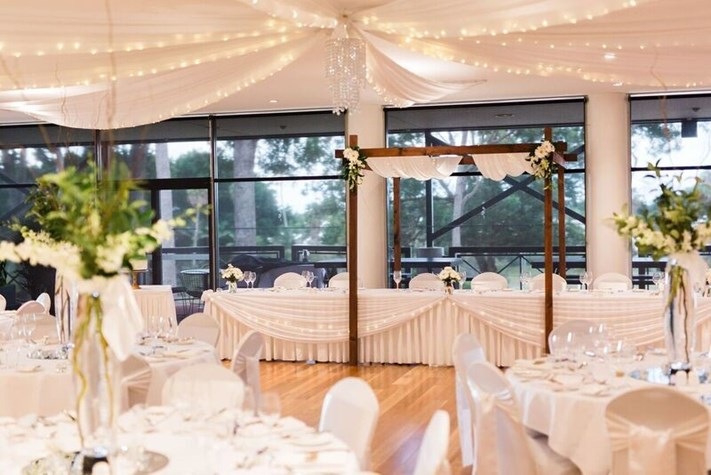 Wedding Venue - Sanctuary Cove Golf & Country Club - Arnie's Function Room 5 on Veilability