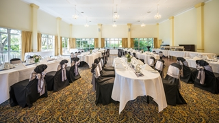 Wedding Venue - Shangri La Gardens  - Sylvia Room 5 - Sylvia Room Panorama Silver on Veilability