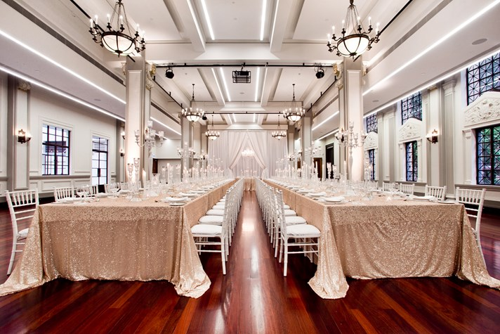 Wedding Venue - Brisbane City Hall - Brisbane Room 1 on Veilability