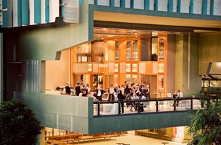 Wedding Venue - State Library of Queensland - Queensland Terrace 2 - Image courtesy Stewart Ross Photography on Veilability