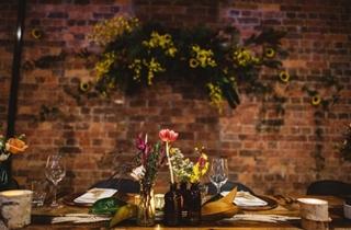 Wedding Venue - The Transcontinental Hotel - Entire Venue 11 - K&A Flower Wall on Veilability