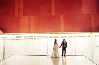 Wedding Venue - State Library of Queensland - Poinciana Lounge & Red Box 1 - Image courtesy Studio Sixty Photography  on Veilability
