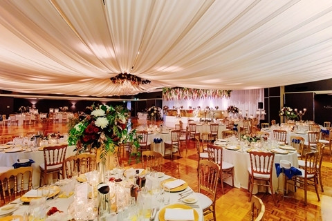 Wedding Venue - The Greek Club - Grand Ballroom 1 - Grand Ballroom Wedding Reception Space on Veilability