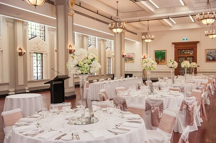 Wedding Venue - Brisbane City Hall - Brisbane Room 7 on Veilability