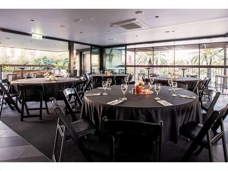 Wedding Venue - Southbank Beer Garden - River Room 2 on Veilability