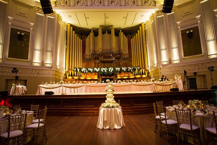 Wedding Venue - Brisbane City Hall - Main Auditorium 6 on Veilability