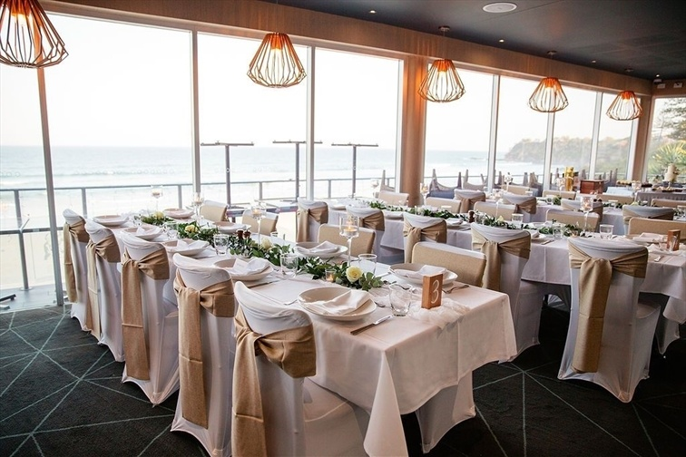 Wedding Venue - Coolum Beach Surf Club - Private Function Room 1 on Veilability