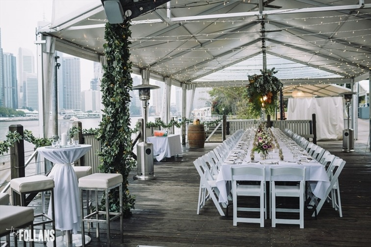 Wedding Venue - Riverlife - Riverfront Deck 8 on Veilability