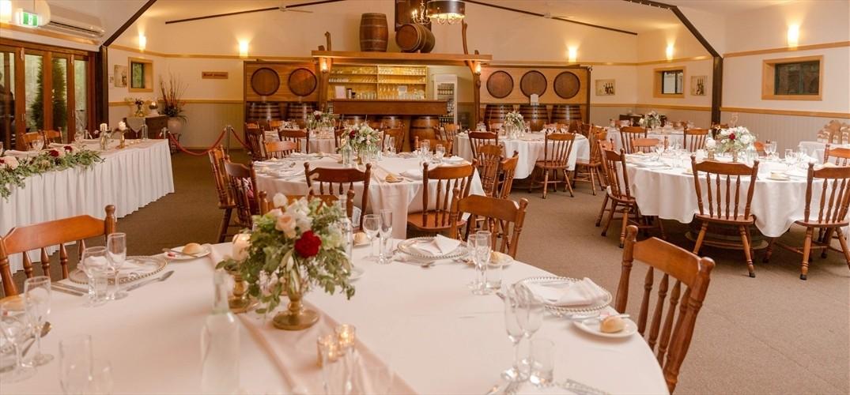 Wedding Venue - Cedar Creek Estate Vineyard & Winery - The Cedar Room 4 on Veilability