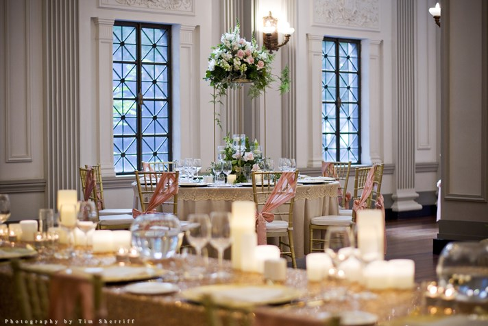 Wedding Venue - Brisbane City Hall - Brisbane Room 6 on Veilability